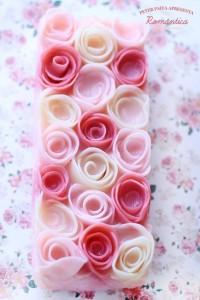 rosas modeladas